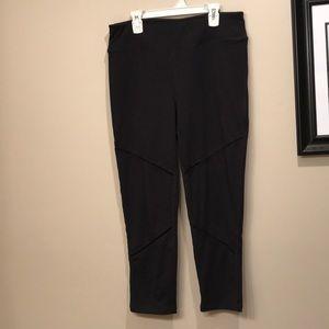 Gaiam leggings size large EUC